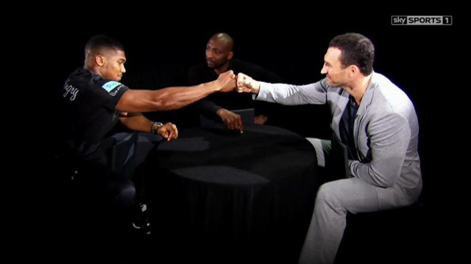 Video de Joshua-Klitschko en The Gloves are off